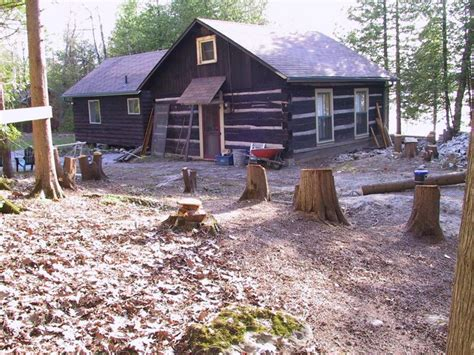 Concrete Log Cabins by Birchview Pouring Concrete Slab For Log Cabin