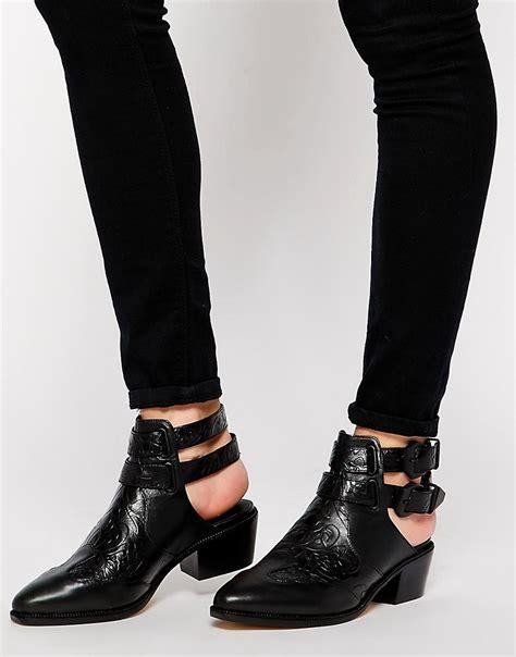 senso senso lucas i back flat ankle boots at asos