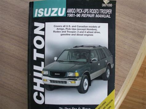 service manual 1996 isuzu hombre sunroof repair isuzu hombre 1996 colorado springs mitula cars service manual download car manuals pdf free 1996 isuzu hombre head up display service