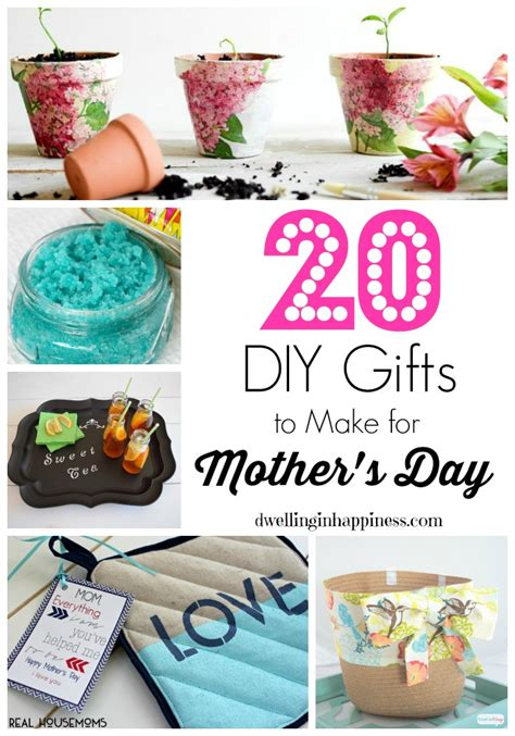Easy To Make Handmade Gifts - 20 diy gifts to make for s day dwelling in happiness