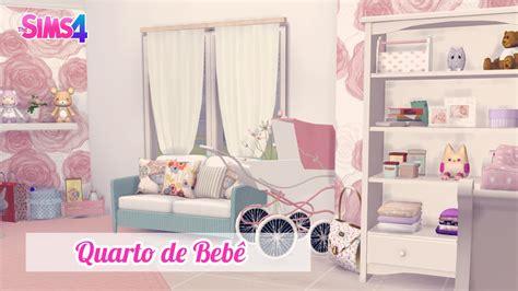 quarto rosa de beb 234 the sims 4 youtube
