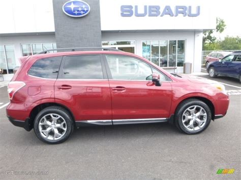 red subaru forester 2015 2015 venetian red pearl subaru forester 2 5i touring