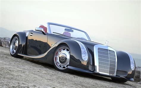 classic mercedes coupe 1955 mercedes benz 300 sc serves as inspiration for custom