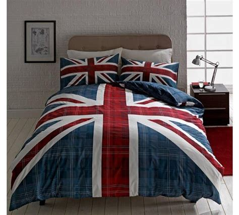 union jack bedding buy home check union jack multicoloured bedding set