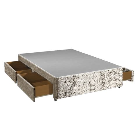 4 Drawer Bed Base by 4ft Small With 4 Drawer Storage Divan Bed Base