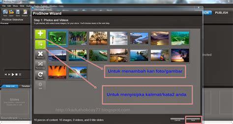 membuat video dari foto dan lagu online cara membuat video dari foto dengan software photodex