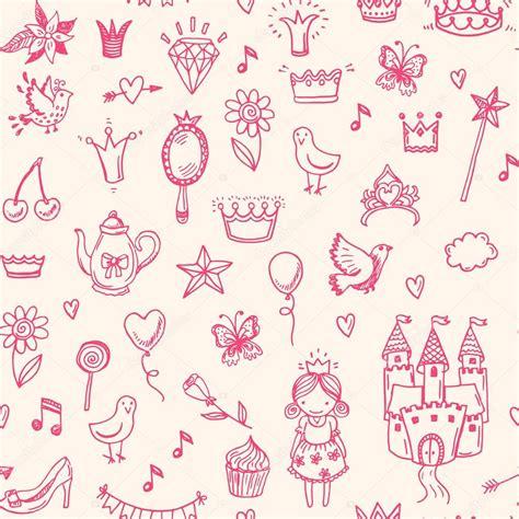 pattern princess vector seamless princess pattern stock vector 169 teploleta