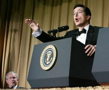 stephen colbert white house correspondents dinner stephen colbert at the 2006 white house correspondents