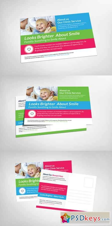 Print Templates 187 Page 874 187 Free Download Photoshop Vector Stock Image Via Torrent Zippyshare Dental Postcards Templates