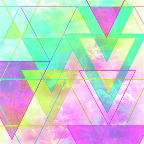 geometric neon pattern neon triangles triangle art products and neon
