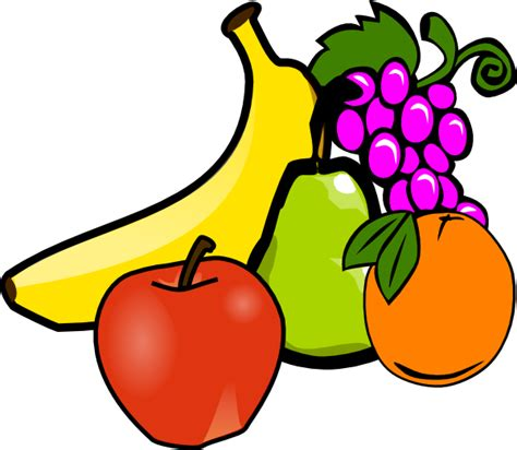 fruits and vegetables clipart fruit and vegetables clipart clipart panda free
