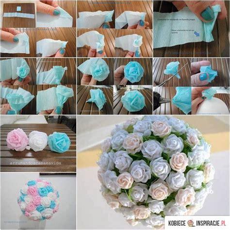 How To Make Crepe Paper Balls - ponad 25 najlepszych pomys蛯 243 w na pintere蝗cie na temat
