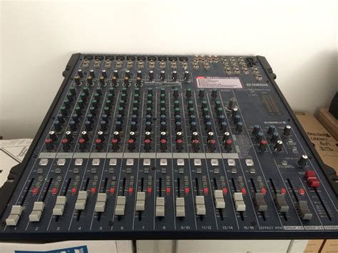 Mixer Yamaha Mg166cx Usb yamaha mg166cx usb image 741646 audiofanzine