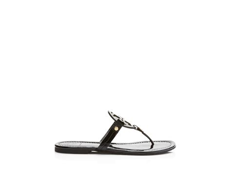burch miller patent sandal burch miller patent leather sandals in black lyst
