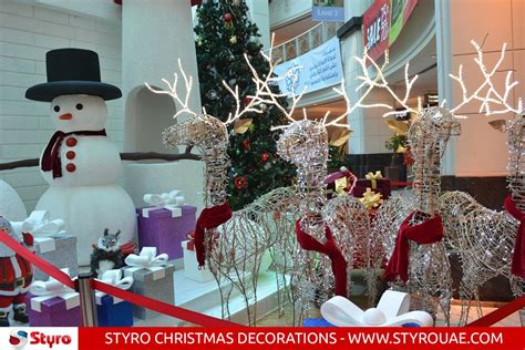 styro christmas decorations dubai abu dhabi sharjah uae