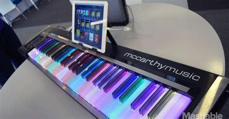Learning The Piano Is More With The Illuminating Piano