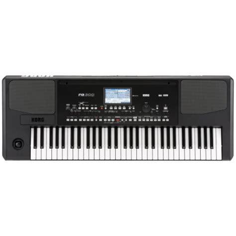 Keyboard Korg Pa300 Baru korg pa300 professional arranger korg pa300 at