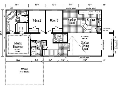 modular ranch house plans ranch style house plans windham ranch style modular home