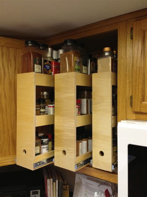 kitchen cabinet solutions spice storage solutions seattle by shelfgenie of seattle