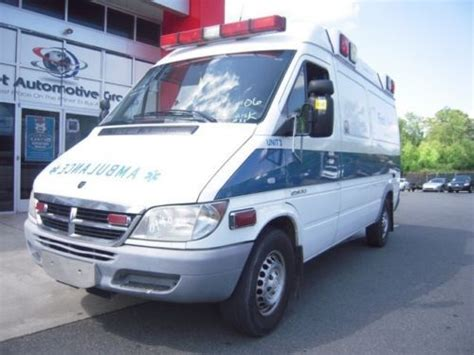 ambulance lights and sirens for sale sell used 2500 ambulance all lights sirens work turbo