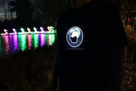 custom light up shirts custom led light up shirts free mockup flashion statement