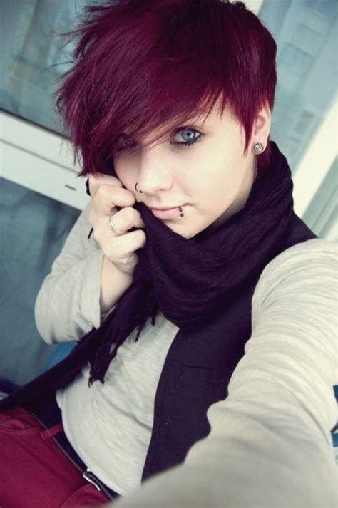 short hairstyles with dyed hair edgy short punk hairstyles can you pull off the look