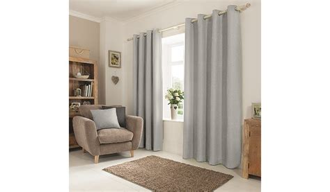 light grey textured curtains george home grey textured weave eyelet curtains curtains