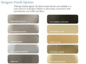 what color is nickel color chart brushed nickel polished nickel kitchen