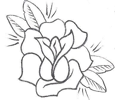 simple rose tattoo drawing free tattoo designs of flowers