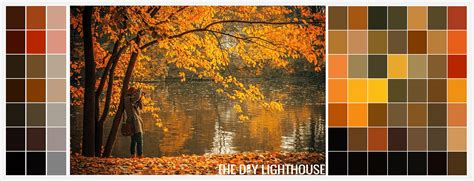 fall colors in 21 essential fall color palettes the diy lighthouse