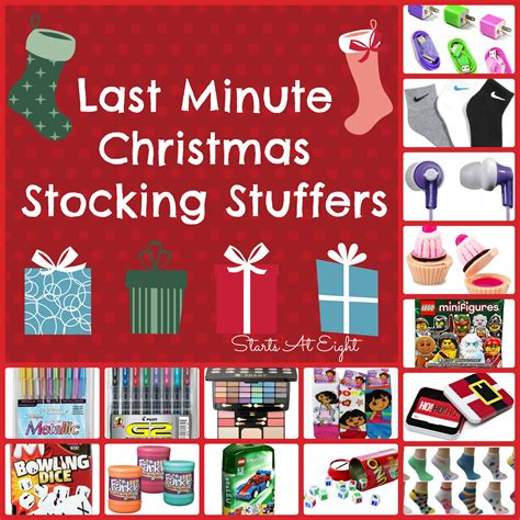 christmas stocking stuffers last minute christmas stocking stuffers startsateight