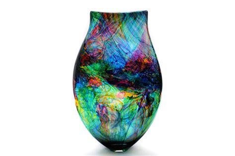 Multi Bud Vase Bob Crooks Glass