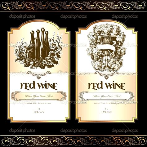 blank wine label template wine label template sle templates