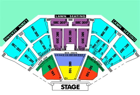 aaron s lakewood hitheatre seating chart aarons hitheatre at lakewood seating chart aarons