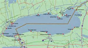 lake ontario canada map westieville