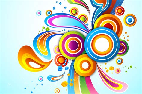 Colorful Designer by Vector Graphics Mahara