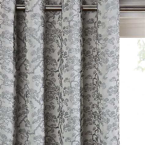 john lewis tree curtains buy john lewis larch bonsai lined eyelet curtains silver