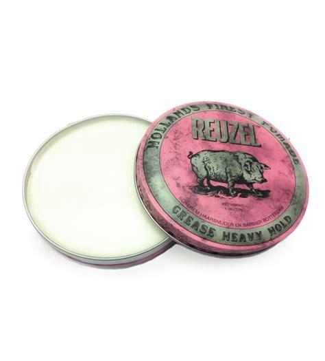 Pomade Reuzel Pink reuzel pink grease heavy hold hollands finest hair pomade 113g