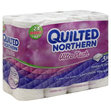 Quilted Northern 24 Rolls quilted northern ultra plush toilet tissue 24 rolls