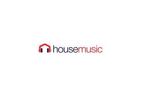 house music logo house music headphones logo design logo cowboy