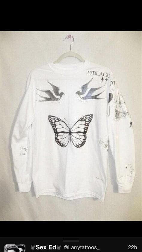 harry styles tattoo sweater fresh tops sweater harry styles tattoo sweatshirt wheretoget