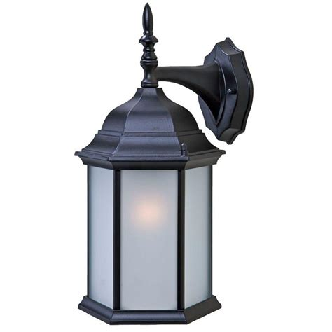 outdoor matte acclaim lighting craftsman 2 collection wall mount 1 light