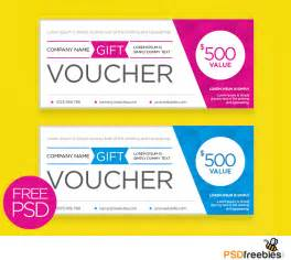 complimentary voucher template free clean and modern gift voucher template psd