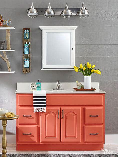 remodelaholic inspiring colorful bathroom vanities