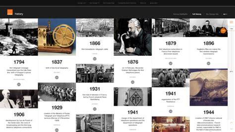 web design history 20 gorgeous exles of timeline in web design for inspiration hongkiat