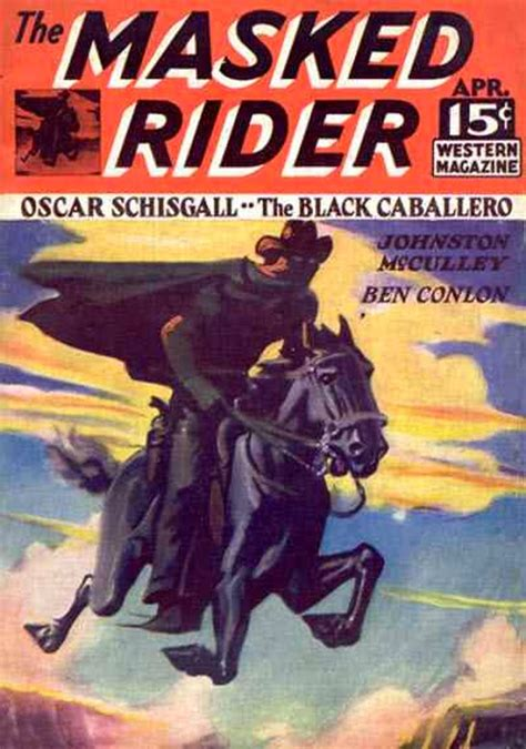 rough edges saturday morning western pulp  masked rider western magazine april