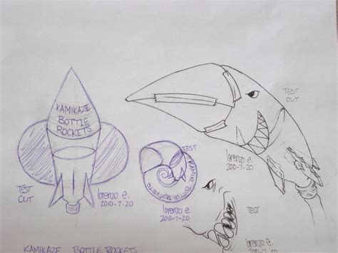 bottle rocket coloring page how to draw bottle rocket