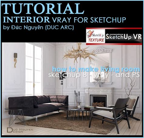 vray for sketchup tutorial blog vray tutorial how to make living room vray sketchup tut