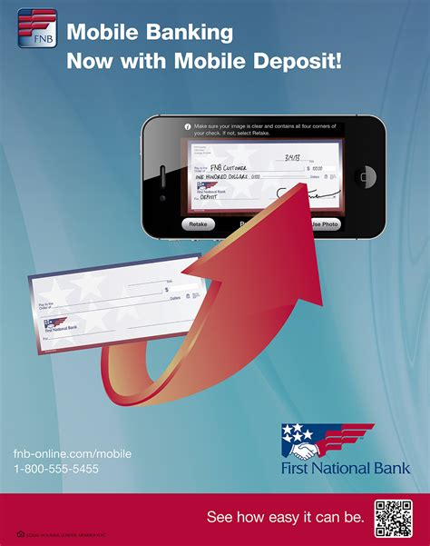 fnb mobile fnb mobile banking with mobile deposit caign on behance