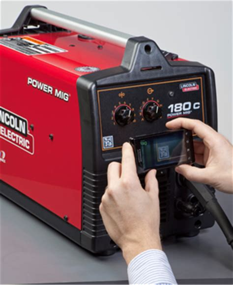 lincoln electric 180c using microsft tags on lincoln electric welders